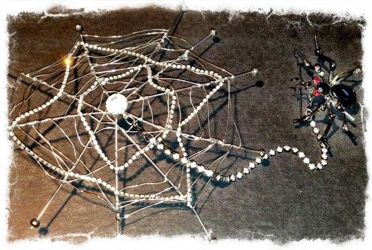 david-mandel-spider-web-and-pin