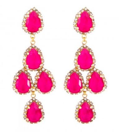 Erickson Beamon Duchess of Fabulous earrings