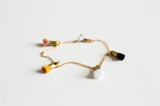 Marigold Multi Tassel Bracelet