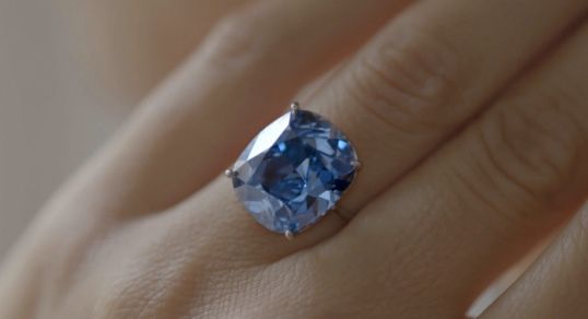 Sotheby's Blue Moon Diamond Ring