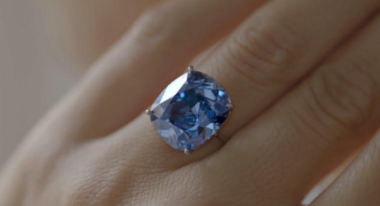 Sotheby's Blue Moon Diamond Ring