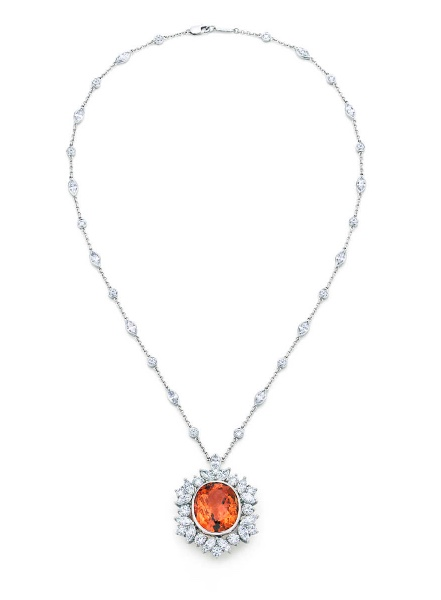 Tiffany Imperial Topaz necklace