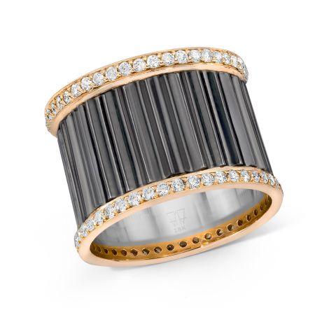 Walters Faith Fluted Diamond Band