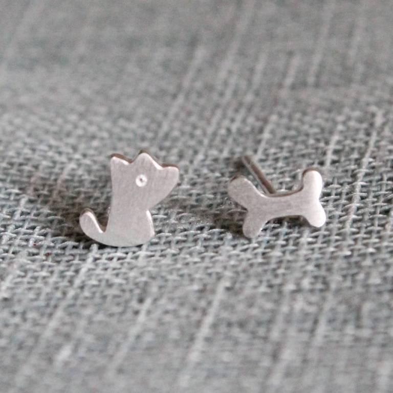 Attic Sterling silver earrings