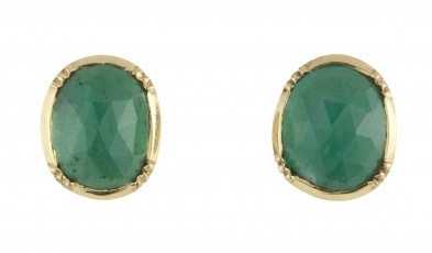 Brooke Gregson Emerald Earrings