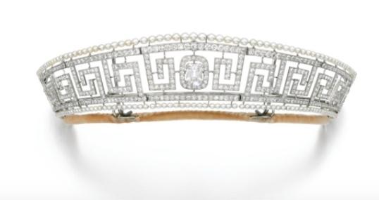 Cartier Lusitania tiara