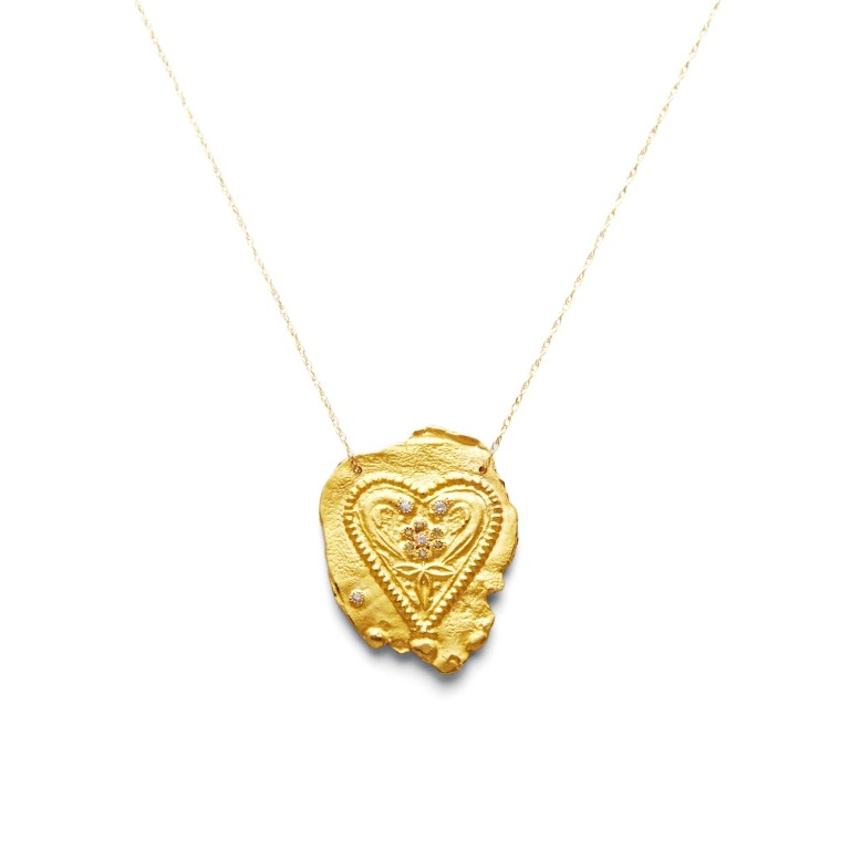 Gan Eden Heart Necklace