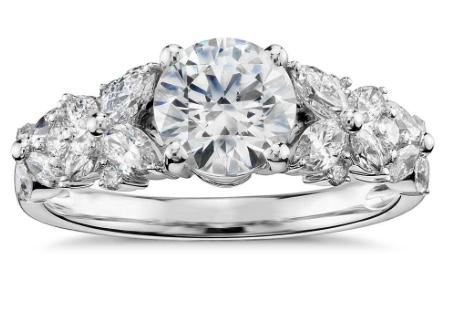 Monique Lhuillier Engagement Ring