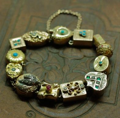 Pippin Vintage Victorian slide bracelet