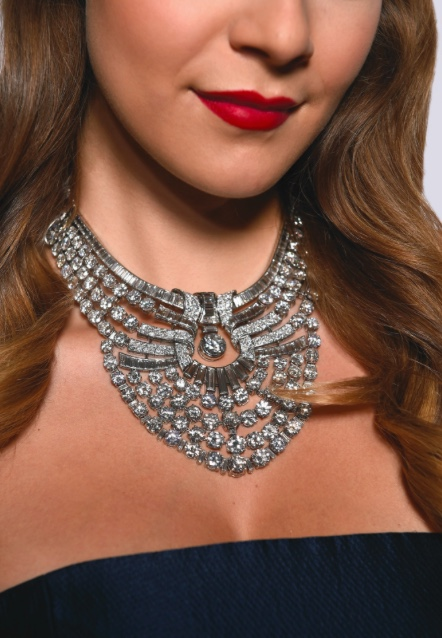 Queen Nazli Diamond Necklace