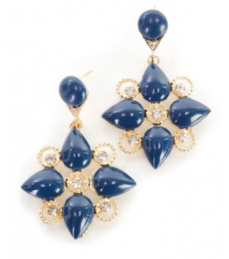 AMIClubwear blue earrings