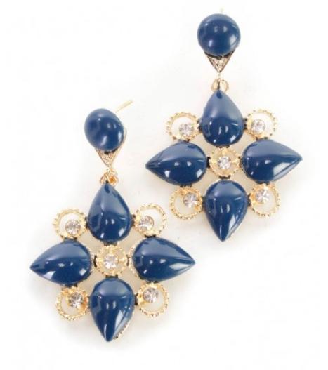 AMIClubwear blue earrings