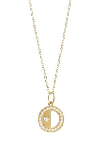 Andrea Fohrman Phases of the Moon necklace