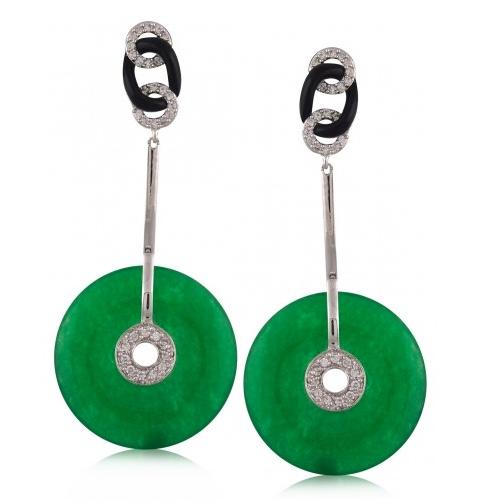 Angelique de Paris deco earrings