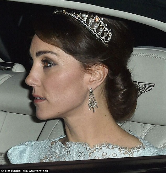 Kate Cambridge Lovers Knot Tiara