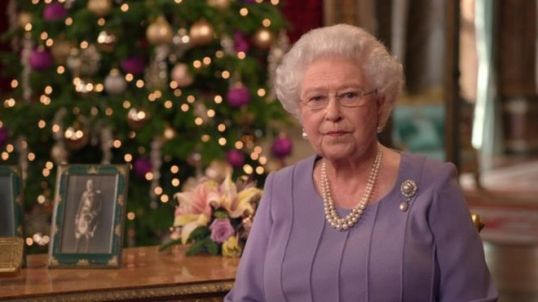 Queen Elizabeth Christmas Day 2014