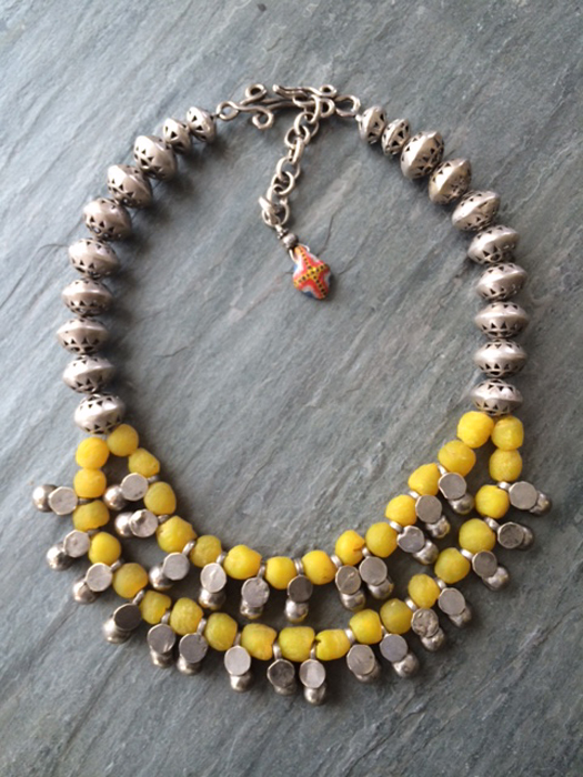 Anna Holland tribal necklace