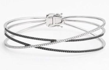 Bony Levy Criss Cross diamond bracelet