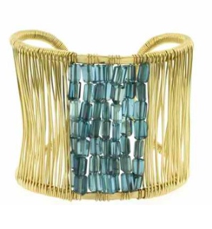 Judith Bright Wrapped Cuff
