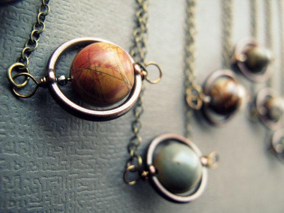 Planet Jasper necklace