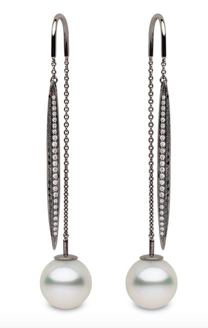 Yoko London Pearl Drop earrings