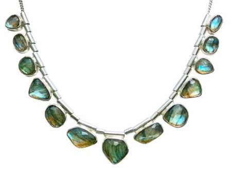 Barry Brinker Labradorite Necklace