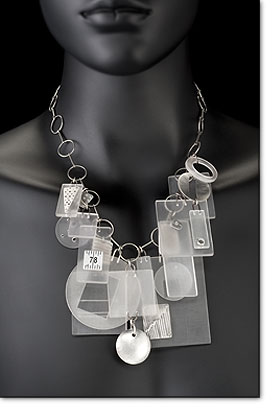 Maja Designs plexiglas necklace