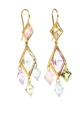 Marie Helene de Taillac earrings 2016