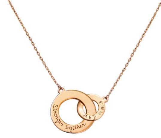 Merci Maman Personalized Necklace