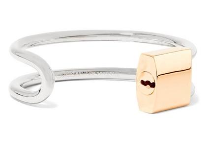 Alexander Wang Lock bracelet