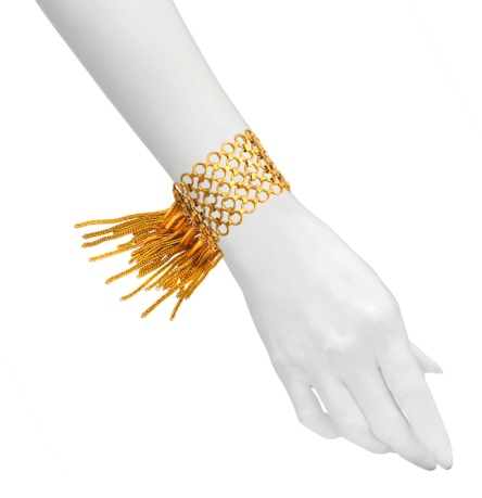 Aris Geldis Fringe bracelet