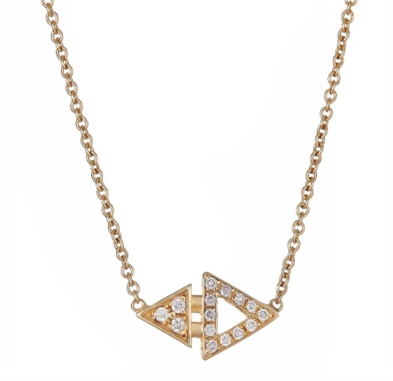 Ilana Ariel Mini Triangle Necklace