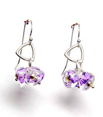 Kait Rhodes Glass Earrings