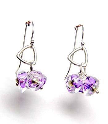 Kait Rhodes Glass Earrings