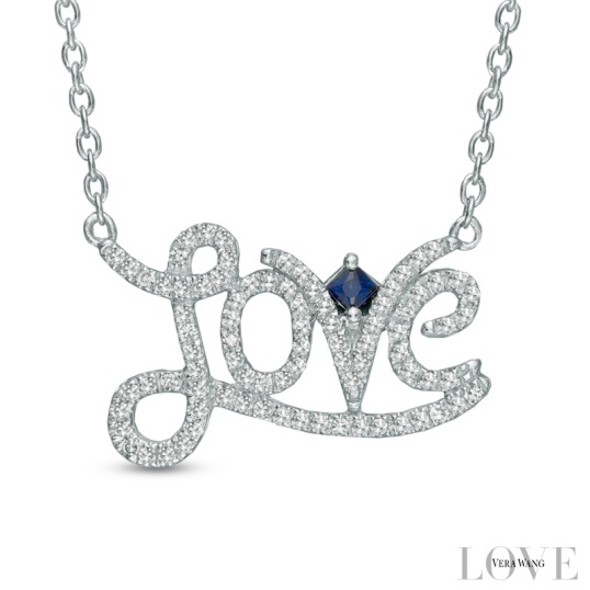 Vera Wang Love Necklace