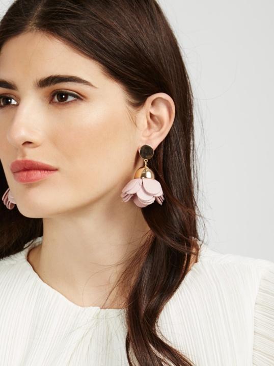 Baublebar Pink Petal Drops Earrings