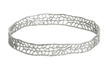 Catherine Weitzman Coral Bangle Bracelet