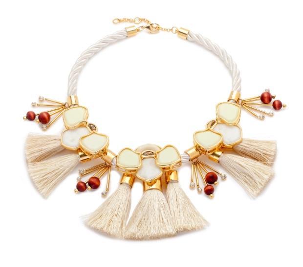 Lele Sadoughi Peking Headdress Necklace