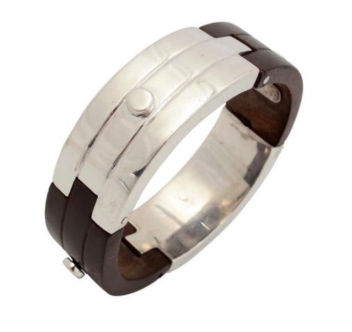 Spratling Silver and Ebony Bracelet