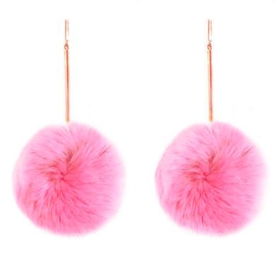 Tuleste Pom Pom Earrings