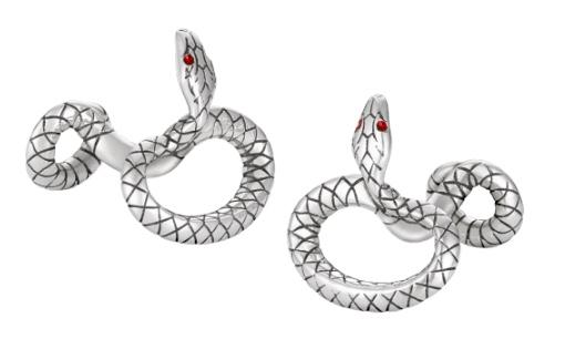 Montblanc snake cufflinks