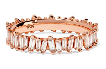 Suzanne Kalan baguette diamond band