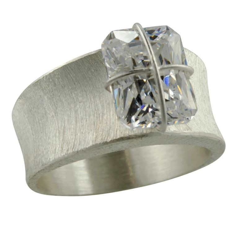 Mysterium CZ Sterling ring