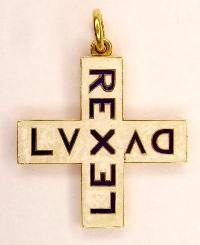 Rex Lex Lux Dux Pendant