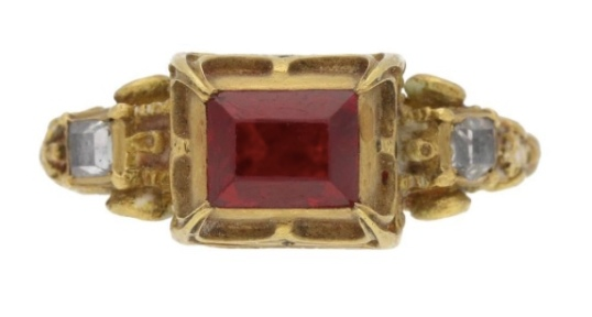 16th Century spinel ring