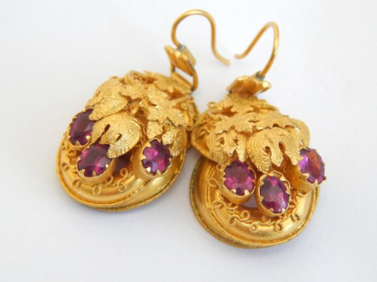 Etsy Victorian Earrings