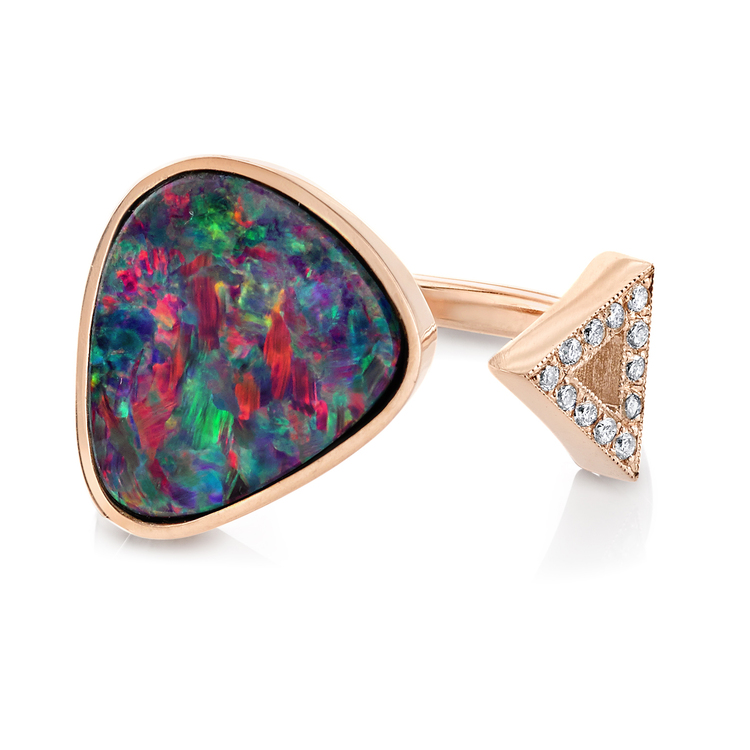 Jill Hoffmeister Opal Ring