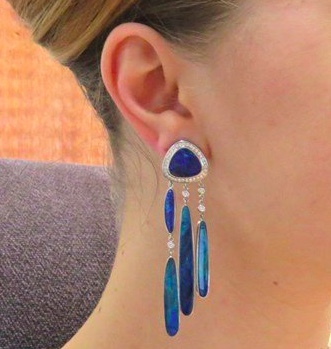 Jorge Adeler Opal drop earrings