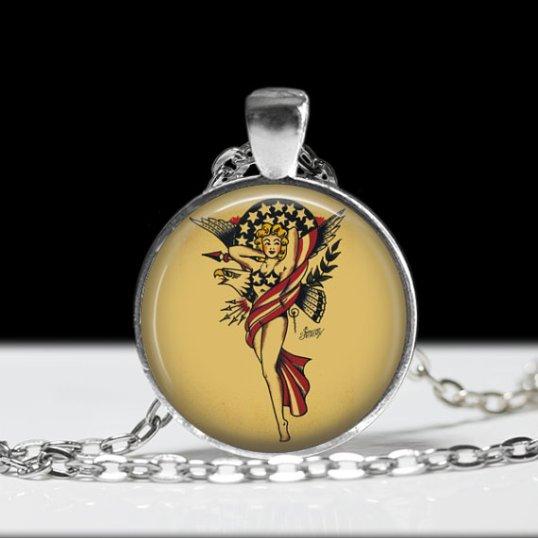 July 4 pendant