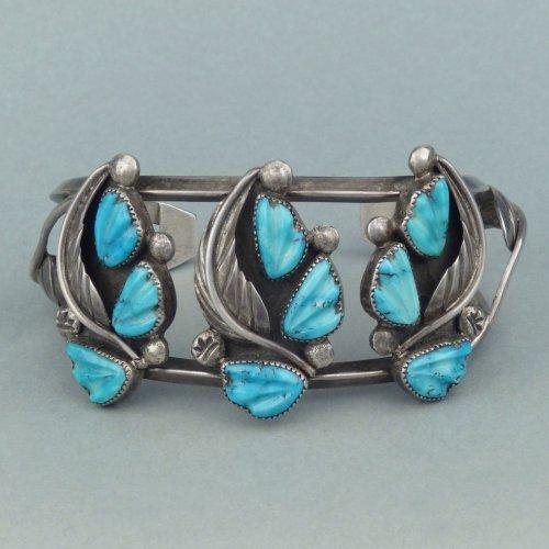Shiprock Zuni bracelet